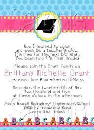 Elementary School Graduation Invitations Mianmian Invitation Template