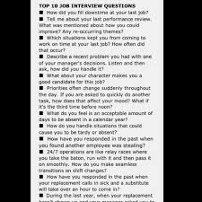 Management Interview Questions for Managers Pinterest