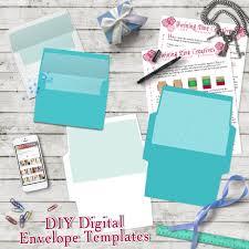 Sample A7 Envelope Template DIY Envelope Template A24 24x24 Envelope Template Digital 23