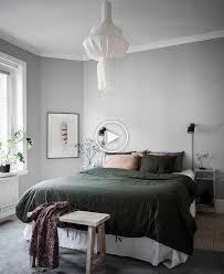 Landhausstil schlafzimmer ideen und design. Acogedora Habitacion En Verde Y Gris Cozybedroom Acogedora Habitacion En Gris Y Verde Bedroom Interior Bedroom Decor Cozy Stylish Bedroom Design