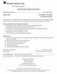 Child Care Resume Child Care Worker Sample Resume Elegant Child Care Resume Sample 37