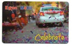 The giftly prepaid gift is issued by sunrise banks n.a., st. Exxon Mobil Gas Celebrate Confetti Gift Card No Value Collectible Ebay