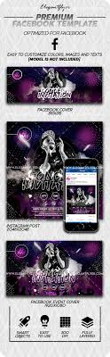 Concert Invite Template Concert Invitation Facebook Cover Template In Psd Post Event Cover