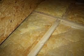 Fussboden verlegen will gut geplant sein. Osb Platten Auf Dem Dachboden Werden Feucht