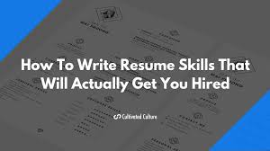 Modern Resume Tumblr 17 Best Resume Skills Examples That Will Win More Jobs