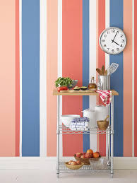 Painted Wall Designs Painting Multicolored Stripes On A Wall Hgtv