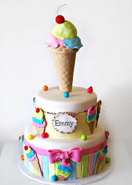 Ice Cream Cake Birthday Cakes Ice Cream Party In 2019 Cake
