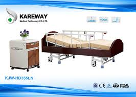 four safe legs medicare hospital bed hospital adjule bed with wooden head and foot board