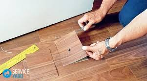 how to remove dents on linoleum