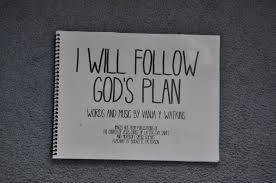 I Will Follow Gods Plan For Me Flip Chart Precious