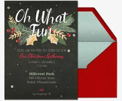 holiday party invitation template free online christmas invitations evite