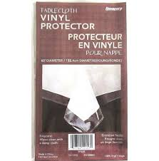 clear plastic tablecloth protector 60 round very high quality fast vicihxqar