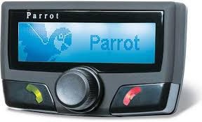 parrot ck3100 black car kit for bluetooth® cell phones parrot ck3100 front