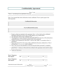 Two Party Contract Template Classy 48 Non Disclosure Agreement Templates Samples Forms Template Lab