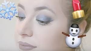 winter inspired cool toned makeup tutorial bad beauty beauty teacher