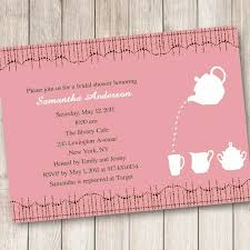Online Print Invitations Cheap Print Pink Bridal Shower Tea Party Invitations Ewbs036