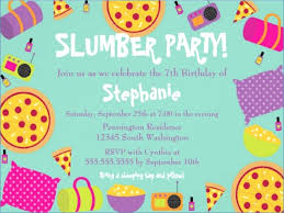 sleepover template template sleepover party invitation jahrestal com