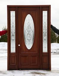 front doors with oval glass