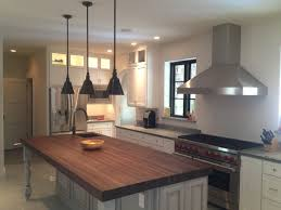brown wooden butcher block islands with small sink for fancy kitchen island idea
