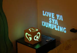 Romantic Gift Personalized Led Light Lamp Personalized Gifts