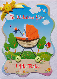 New Baby Greeting Cards Handmade Greeting Card Collections By