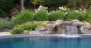 Pool Landscape Design Ornamental Plantings 1 Clc Landscape Design