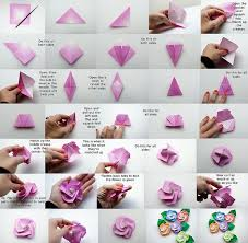 Origami Flower Paper Make Origami Rose Paper Flowers Flowers Healthy