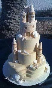 Sand Castle Wedding Cake Beachwedding Wedding Accessories