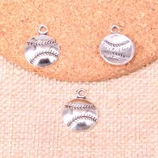 2019 antique silver baseball charms pendant fit bracelets necklace diy metal jewelry making 15 15mm from keychian66 10 16 dhgate com
