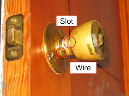 Door Handle. replacing a door handle: Remove A Door Knob That Has ...