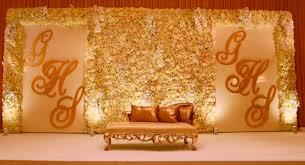 flower wall stage decor wedding decorations furniture als wedding reception bride