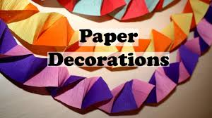 diy paper decorations homemade decorations diy party decorations