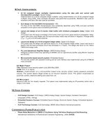 Iitb Resume Example2 Embedded Hardwareneer Resume Examples Example