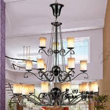 get ations simulation wrought iron candle chandelier living room three american vintage chandelier lighting fixture hotel project