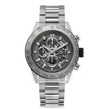 tag heuer carrera car2a90 ft6071 the watch gallery tag heuer carrera automatic titanium grey dial mens watch car2a8a bf0707