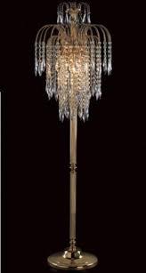 crystal floor lamps model