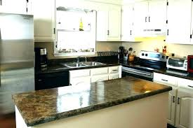amazing paint formica countertops for can you paint laminate black painting to look like granite glossy