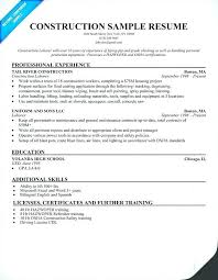Sample Resume For Storekeeper In Construction Best of Storekeeper Resume Sample Kicksneakersco