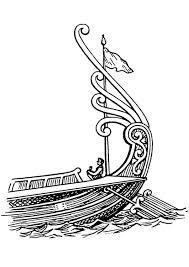 Kleurplaat Schip Achtersteven Met Roer Afb 18827 Images