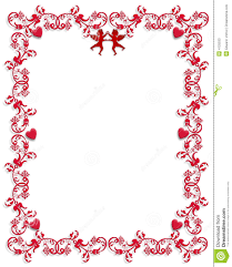 valentine s day clipart frame 6