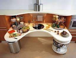Smart Kitchen Ergonomic Italian Kitchen Design Suitable For Wheelchair Users