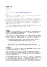 Resume Format For Banking Jobs Atchafalaya Co