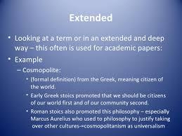 Example Of Extended Definition Essays Extended Definition Essay About Family
