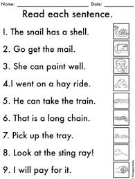 Ai ay sound word sort cutting and pasting phonics fun. No Prep Ai Ay Worksheets Long A Word Work By The Designer Teacher