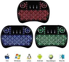 Mini i8 2.4GHz 3 Colors Backlit Wireless Keyboard ... - Amazon.com