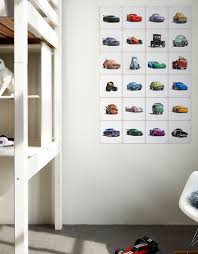 ii disney cars collage wall decoration