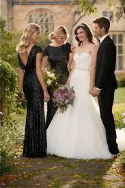 Essense Designs Bridesmaid Dresses Wedding Inspiration Black Tie Affair Pretty Happy Love