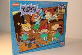 rugrats nickelodeon 100 piece puzzle mattel 1997 new