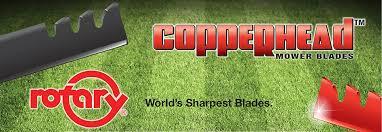 Copperhead Mower Blades
