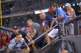 Nationals game in D.C. suspended after shooting outside stadium - The  Boston Globe